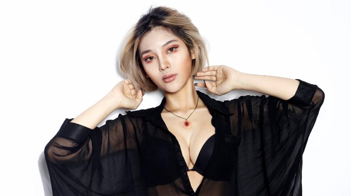 Linggo Vagina Blume Anhänger Halskette Schmuck sexy