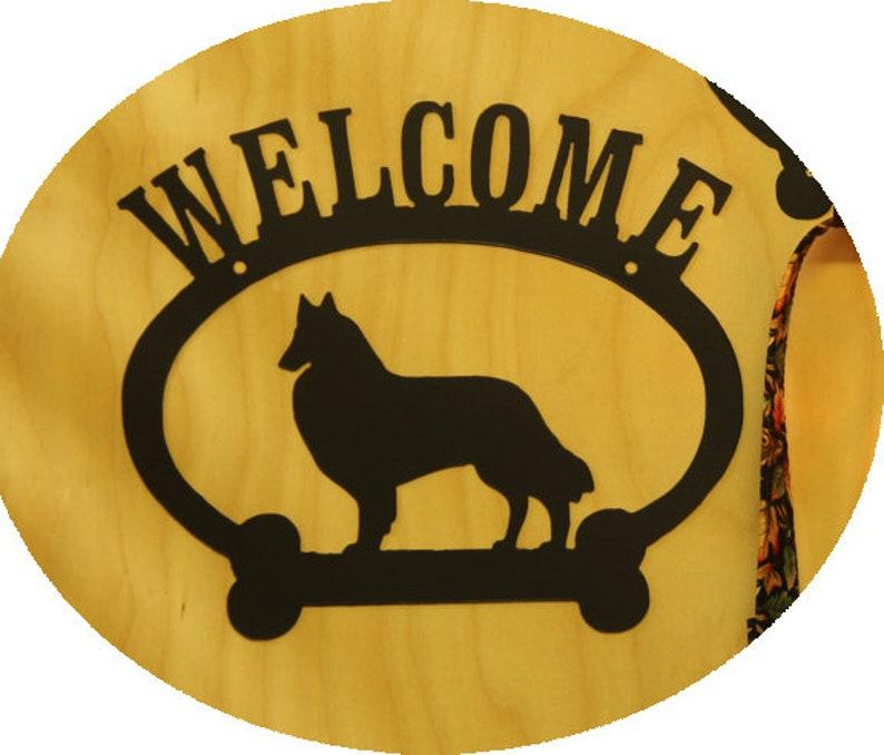 Belgian Tervuren Welcome Sign Time For A Walk Leash Hook Key Etsy