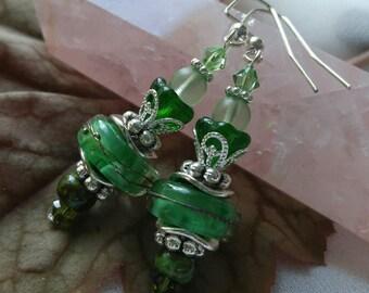 Emerald Forest Earrings