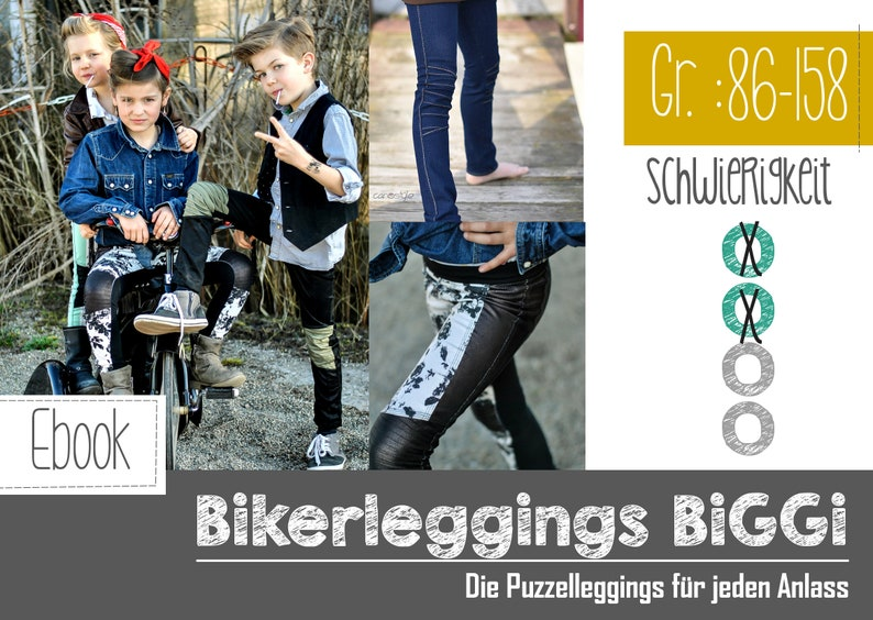 eBook Bikerleggings Biggi Kids image 0