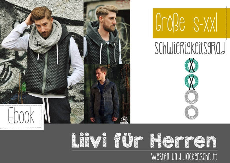 E-Book Steppweste/Jacke Liivi  Herren Gr. S-XXL image 0