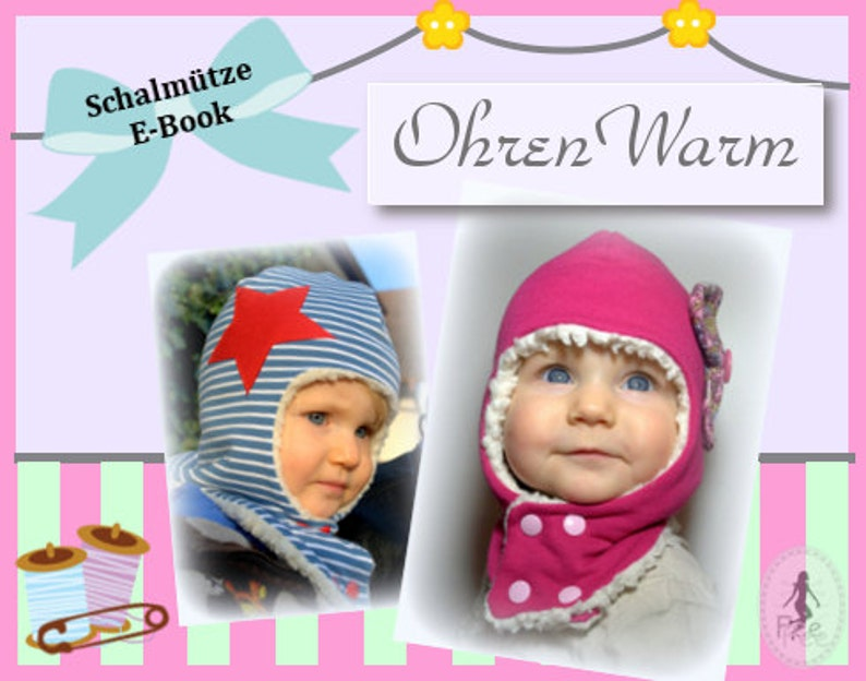 FeeFee Schalmütze Ohrenwarm image 0