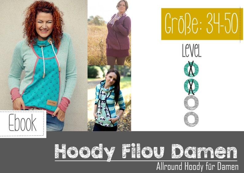 ebook Filou Ladies the All-round hoodie image 0