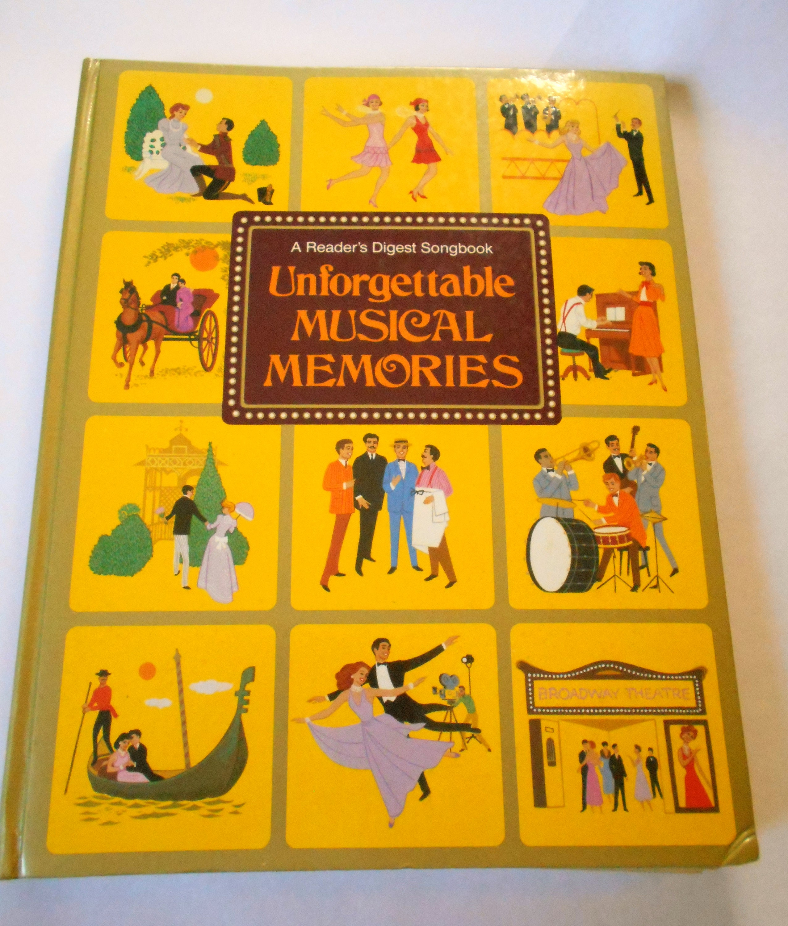 Vintage Readers Digest Unforgettable Musical Memories Songbook Etsy