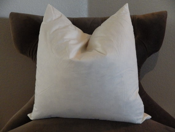 READY TO SHIP40 FeatherDown Pillow Insert 40x40 Etsy Extraordinary 18x18 Down Pillow Insert