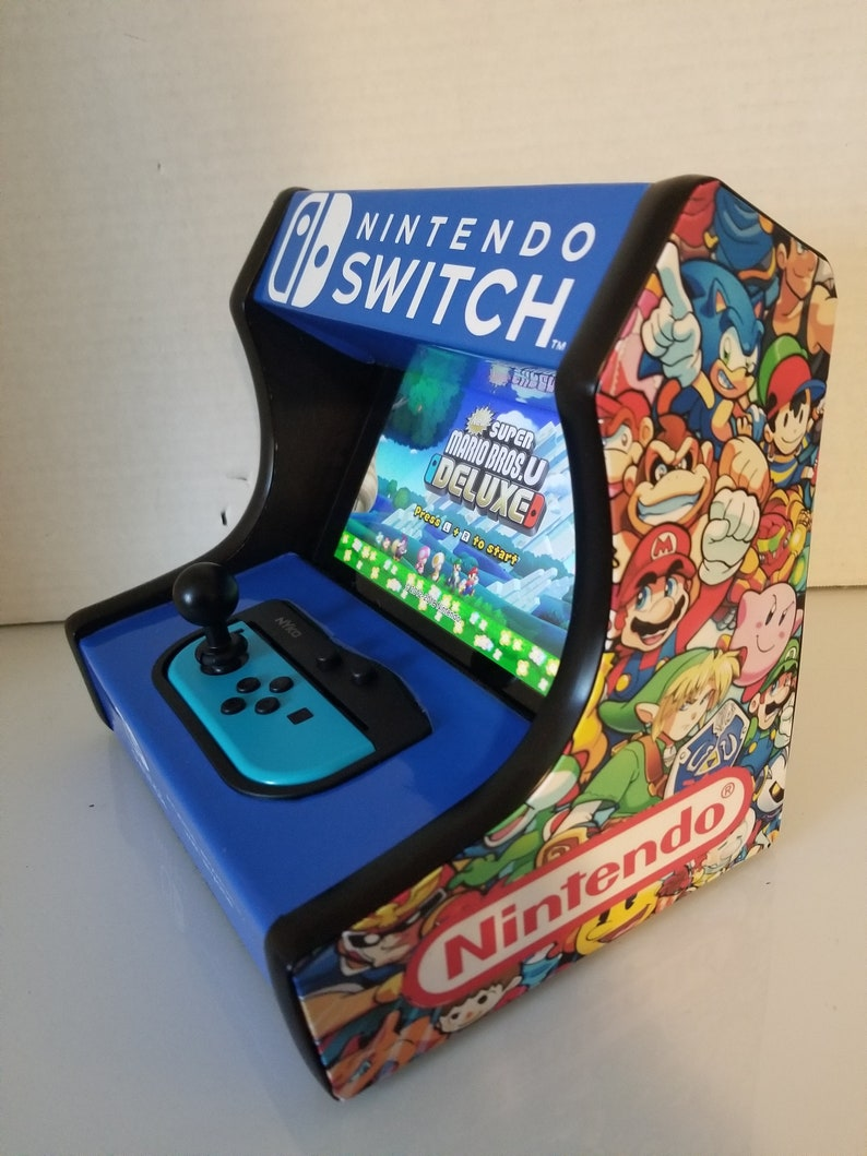 Custom Arcade Cabinet dock stand for the Nintendo switch image 0
