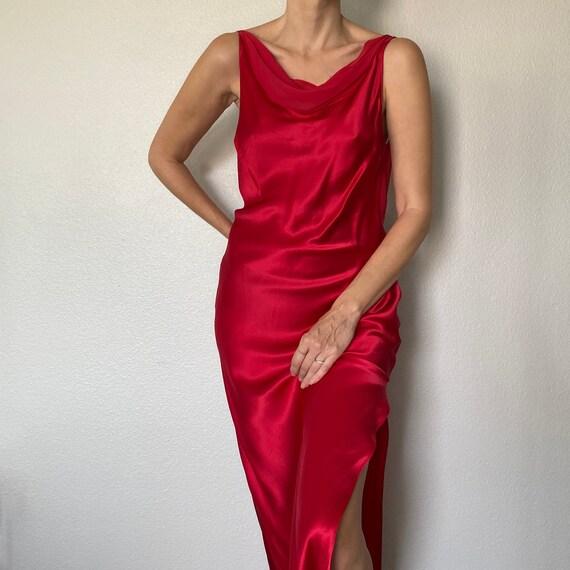 Vintage Victoria's Secret 100% Silk Long Nightgown