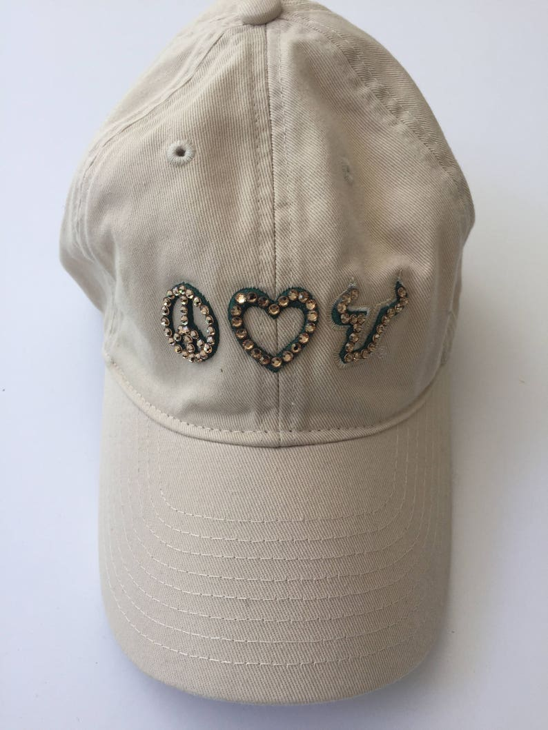 University of South Florida Swarovski Crystal Hat