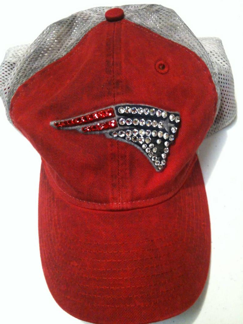 New England Patriots Swarovski Crystal Hat  adecf17db