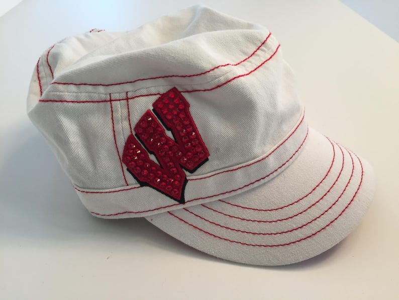 University of Wisconsin Swarovski Crystal Hat