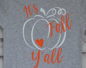 Personalized Pumpkin Heat Press Vinyl Shirt or Bodysuit for Boy or Girl Fall