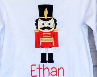 Personalized Nutcracker Royal Prince or King Mouse Applique Shirt or Bodysuit