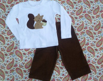 Custom Corduroy Pants for Boys 0 - 8 Years Choose your Colors and Fabrics