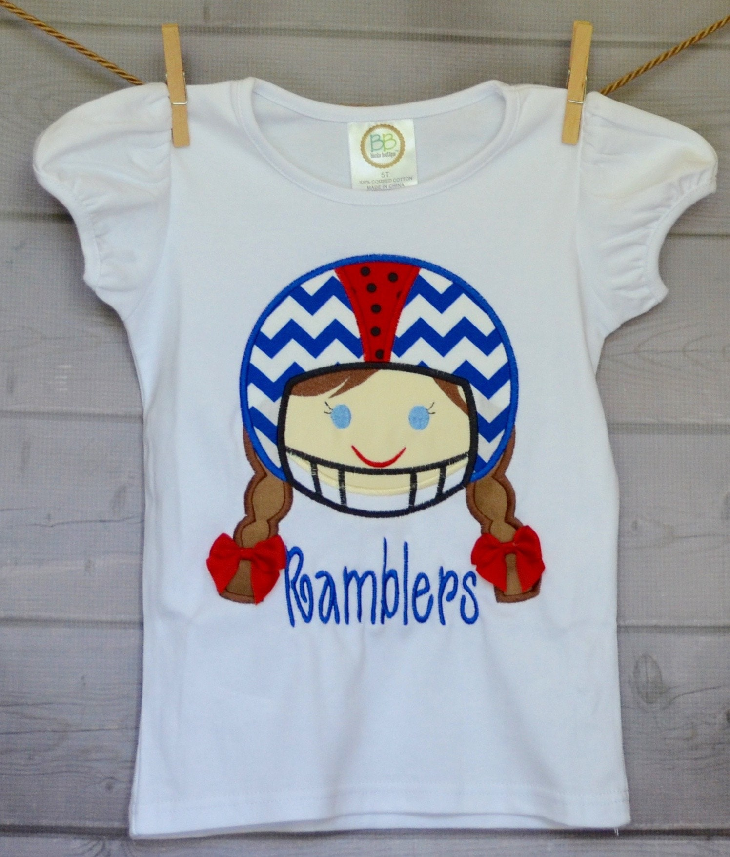 Personalized Football Helmet Girl Choose Your Team Colors Etsy