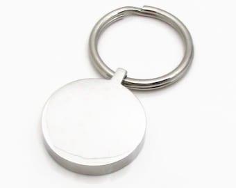 Metal keychain blank   Etsy