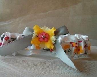 Love in Bloom Wedding Garter