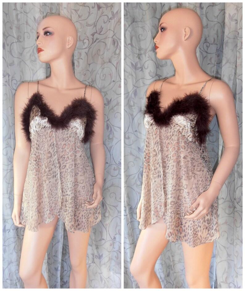 b8bcaf81e0 Sexy Lingerie Sexy Nighty Cheetah Lingerie Fur Lingerie