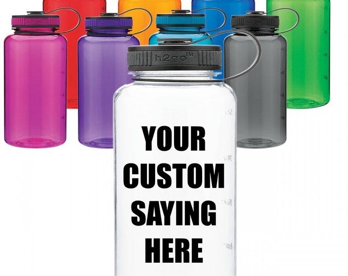 customer design water bottle // custom water bottle // water bottle // personalized bottle / personalized water // sports bottle // BPA free