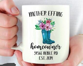 homeowner mug / housewarming gift / homeowner gift / new homeowner / new home gift / housewarming / housewarming mug / new mug / homeowner