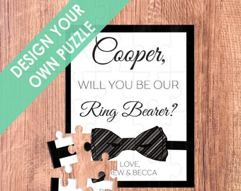 ring bearer puzzle / ring bearer / ring bearer gift / ring bearer proposal / puzzle / ask ring bearer / ring bearer card / will you be our