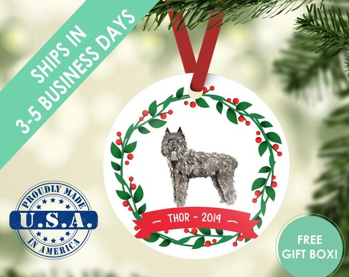 Bouvier ornament Dog ornament pet ornament custom dog ornament personalized dog dog lover gift dog christmas ornament Bouvier des Flandres