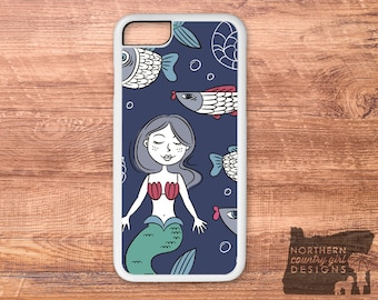 mermaid iPhone case / mermaid phone case / mermaid / iPhone 6 case / iPhone 7 case / iPhone case / iPhone 7 plus case / iPhone 6s case