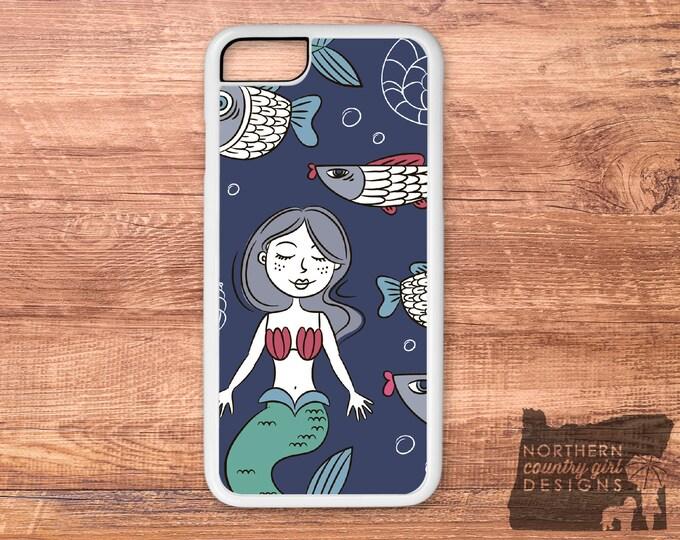 mermaid iPhone case / mermaid phone case / mermaid / iPhone 6 case / iPhone 7 case / iPhone case / iPhone 7 plus case / iPhone 6s case