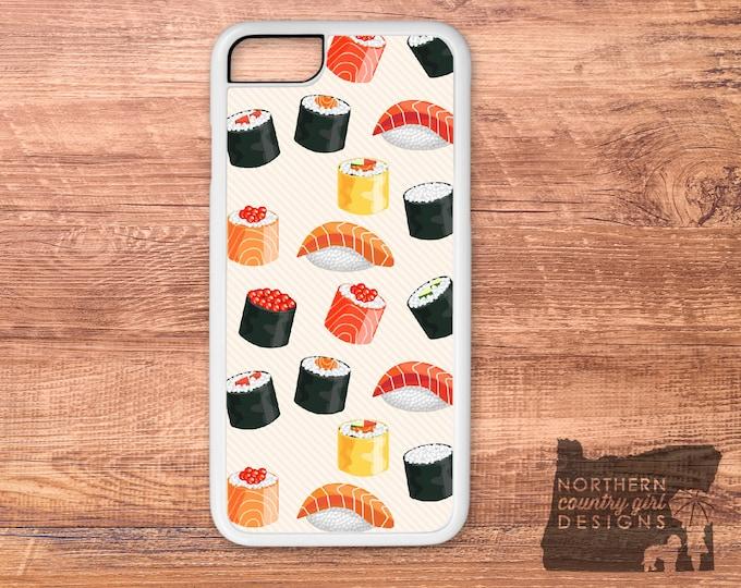 sushi / sushi phone case / sushi iPhone case / iPhone 7 case / iPhone 6 case / iPhone case / iPhone 7 plus case / iPhone 6s case / iPhone 6