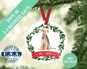 Welsh Terrier ornament Dog ornament pet ornament custom dog ornament personalized dog dog lover gift dog christmas ornament terrier ornament