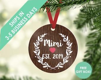 Christmas ornament / ornament / mimi ornament / mimi gift / gift for mimi / mimi / grandma gift / mimi gifts / nana gift / gift for grandma