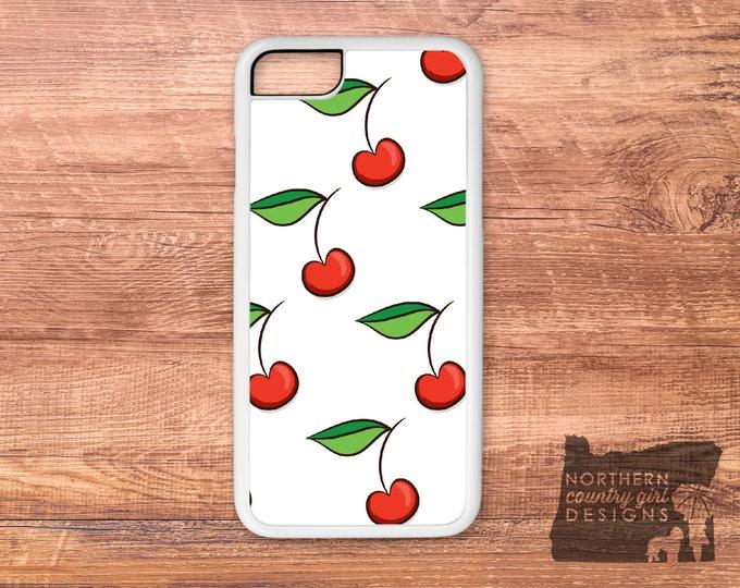 cherry phone case / iPhone 6 case / iPhone case / iPhone 7 case / cherry / phone case / iPhone 6 plus case / iPhone 5 case / cherry blossom