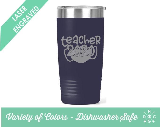 2020 Teacher / Corona Teacher / Distance Learning Teacher /Teacher Coffee Cup / Gift for teacher / teacher retirement gift