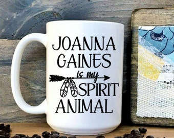 Joanna Gaines Spirit Animal Mug // Joanna Gaines // Fixer Uper // Spirit Animal // Coffee Mug // HGTV / Fixer Upper / Chip Gaines // shiplap