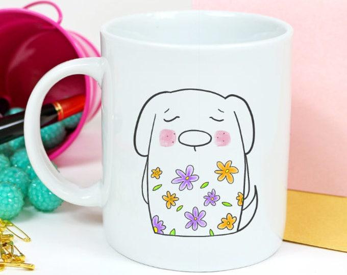 dog mug / dog lover gift / dog coffee mug / coffee mug / dog gift / funny dog mug / boho dog / dog cup / cute dog mug / dog lover / dog mom