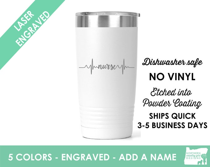 nurse tumbler nurse gift nurse graduation gift nurse shirt nurse appreciation nurse personalized tumbler nurse cup rn tumbler gift for nurse