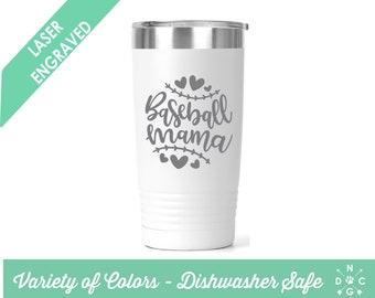 Baseball Mama Tumbler / Baseball tumbler / Baseball / Baseball Mom / Custom tumbler / personalized tumbler / sports tumbler Baseball Mom Cup