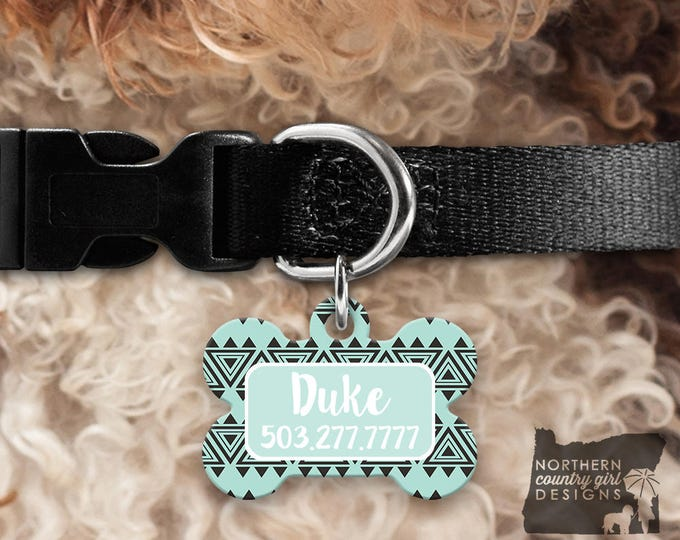 Custom Dog Tag for Dogs Dog ID Tags Personalized Pet tribal Pet Tag Pet Tags Pet ID Tag Pet id Tags for Dog Tag ID Dog Tag Dog Tags boho