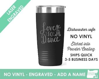 Dance Teacher Coffee Cup / Gift for teacher / Dance Teacher Gift / teacher appreciation / Custom Coffee Mug  / teacher retirement gift