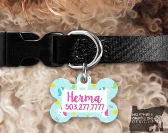 Custom Dog Tag for Dogs Dog ID Tags Personalized Pet unicorn Pet Tag Pet Tags Pet ID Tag Pet id Tags for Dog Tag ID Dog Tag Dog Tags