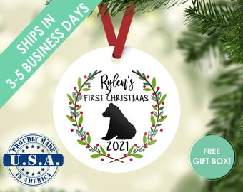 baby's first christmas ornament / christmas ornament / first christmas / baby ornament / baby bear ornament / bear ornament / baby bear