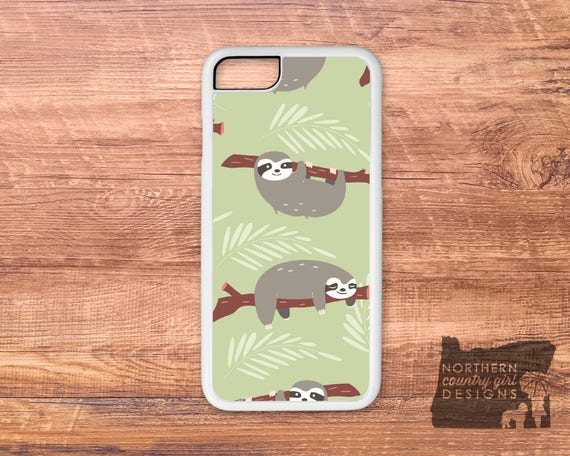 best loved 98f30 ab42a Items similar to sloth / sloth phone case / sloth iPhone case ...