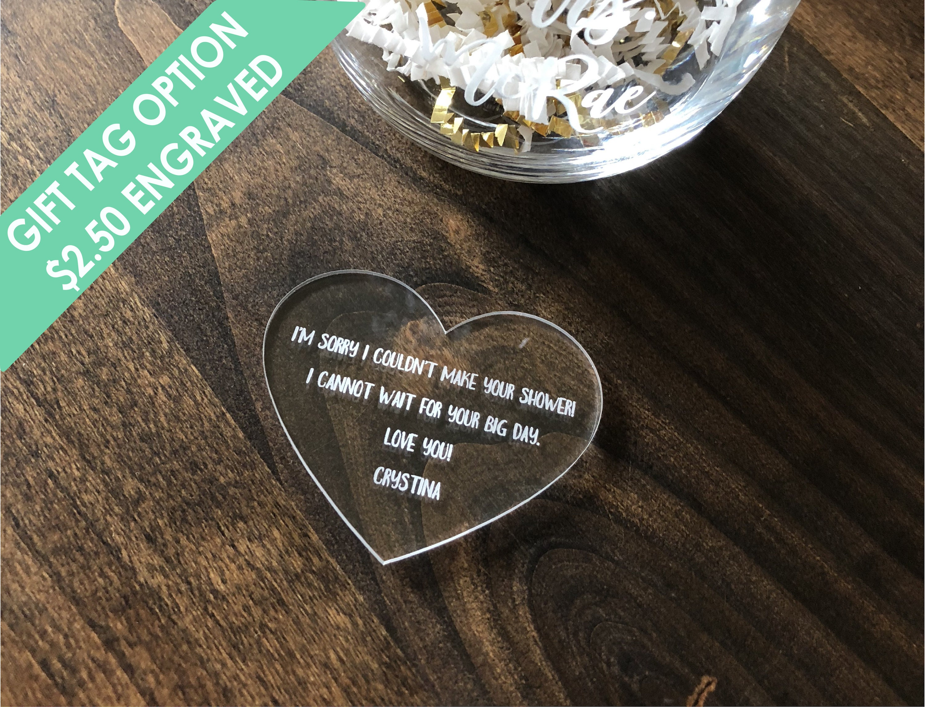 Personalized Custom engraved name sign with base optional decoration