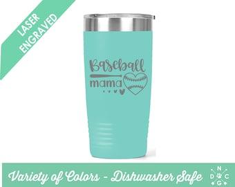 Baseball Mama Tumbler / Baseball tumbler / Baseball / Baseball Mom / Custom tumbler / personalized tumbler /sports tumbler /Baseball Mom Cup