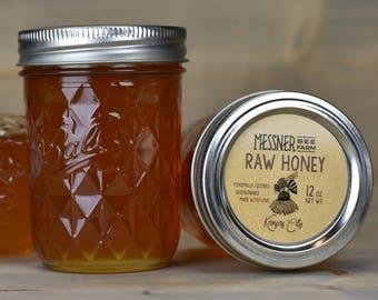 Raw Honey/ 12oz/ Kansas City