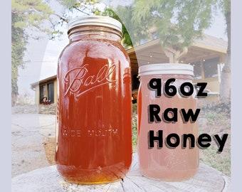 Bulk Raw Honey/ 96oz/ Kansas City