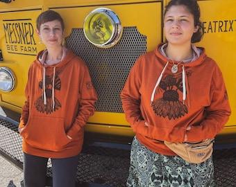 Messner Bee Farm Hoodie!  (Bee Shirt, Beekeeper Shirt, Save the Bees, Save the Bees Shirt, Bee Tee, Honeybee Tee)
