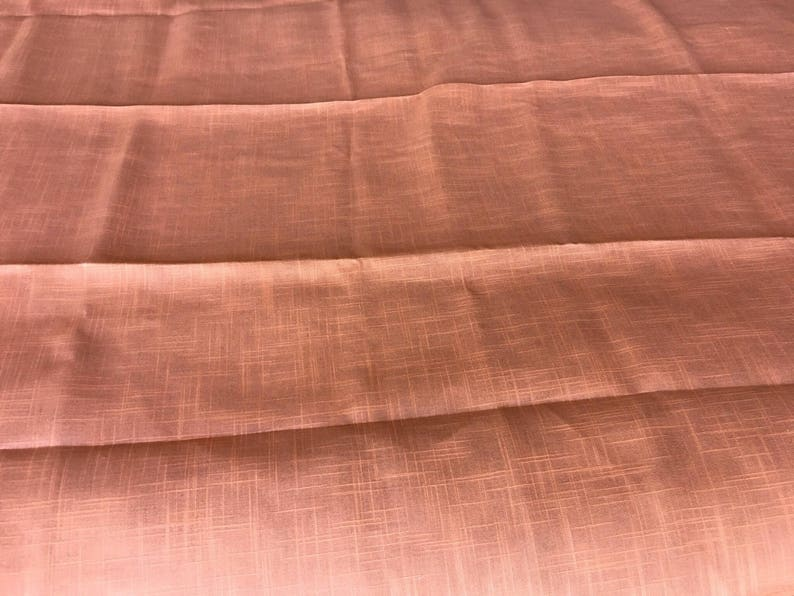 Vintage Orange Tablecloth With 3 Matching Napkins