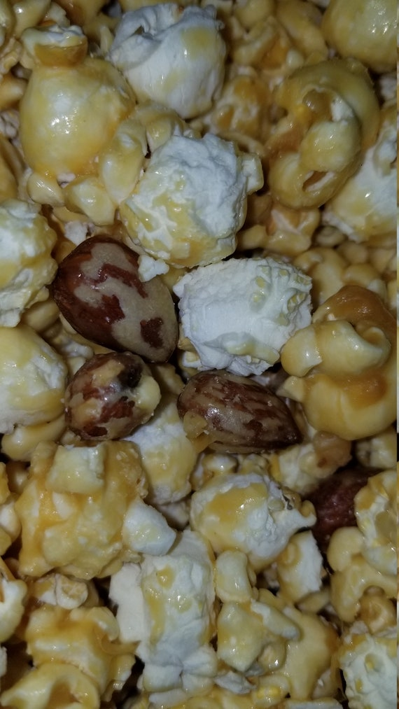 Toffee Almond Crunch Gourmet Popcorn