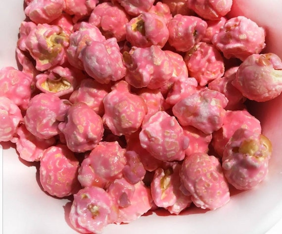 Summer Watermelon Vodka Popcorn