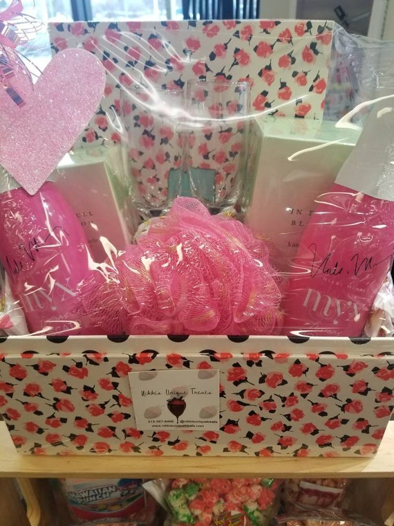 Custom Gift Baskets.  Custom made to order! Card and message included.  Available for all occasions!